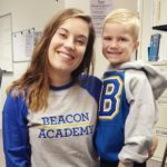 Teacher & Student at Beacon Academy
